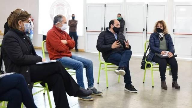 Patricia Saseta, Enrique Gimenez, Gustavo Saadi