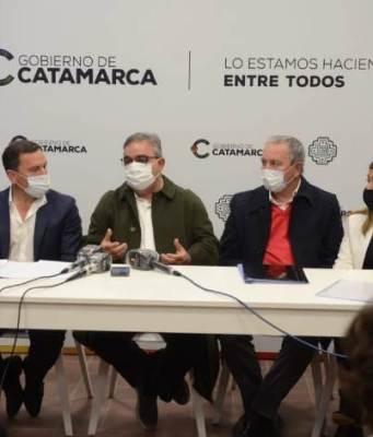 Raul Jalil, Fidel Saenz, Ruben Dusso
