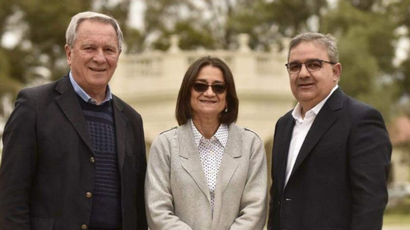 Ruben Dusso, Lucia Corpacci, Raul Jalil
