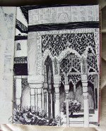 Weekly Sketch – Alhambra – 04/08/12