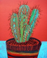 Weekly Sketch – 'The Don' cactus – 16/09/2012