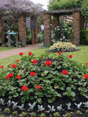 The Geffrye 19th c Period Garden