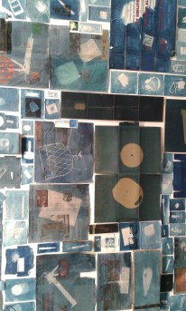 Cyanotypes by Walead Beshty