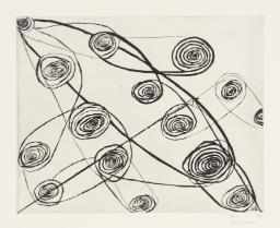 Etching Copyright Louise Bourgeois