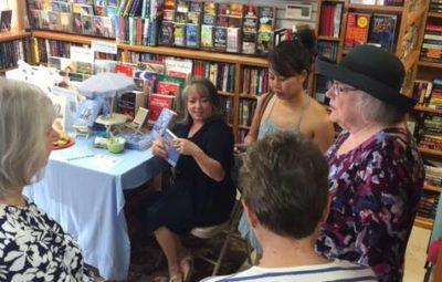 Lynnette Adair signing