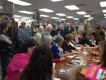"book signing for ""Beach Days"""