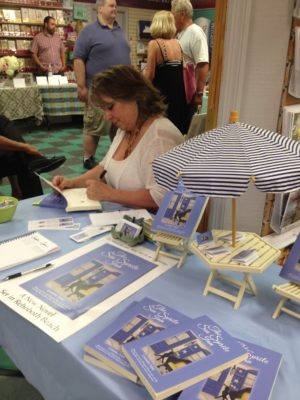 Lynnette Adair signing Sea Sprite Inn