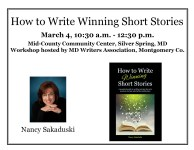 Short Story Workshop March 4