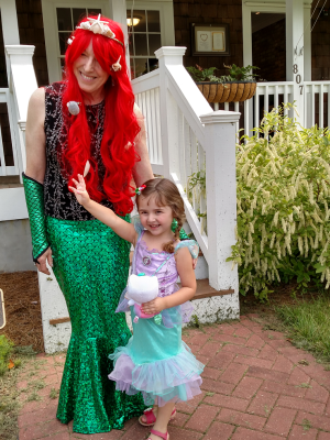 Mermaid in Rehoboth Bay signing