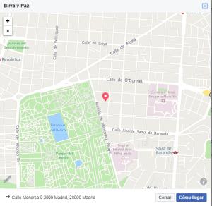 imagen captura de Google maps