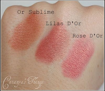 swatches coloretes bourjois
