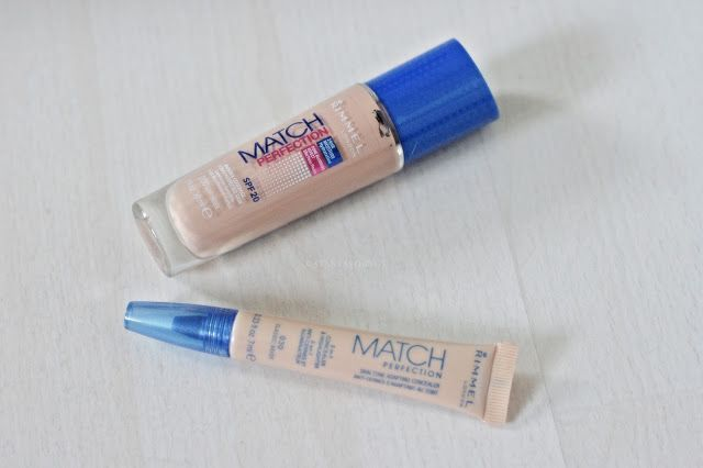 match perfection rimmel london foundation concealer review opinions