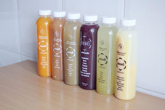 zumos depurativos drink 6 opiniones precios, donde comprar experiencias