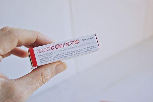 ingredientes ampollas liposomas martiderm