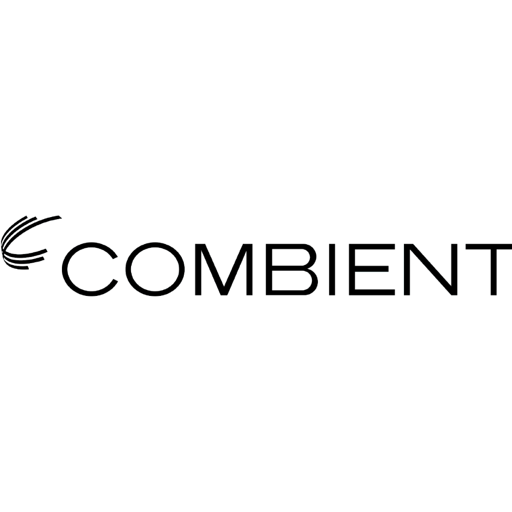 Combient logo black and white transparent png