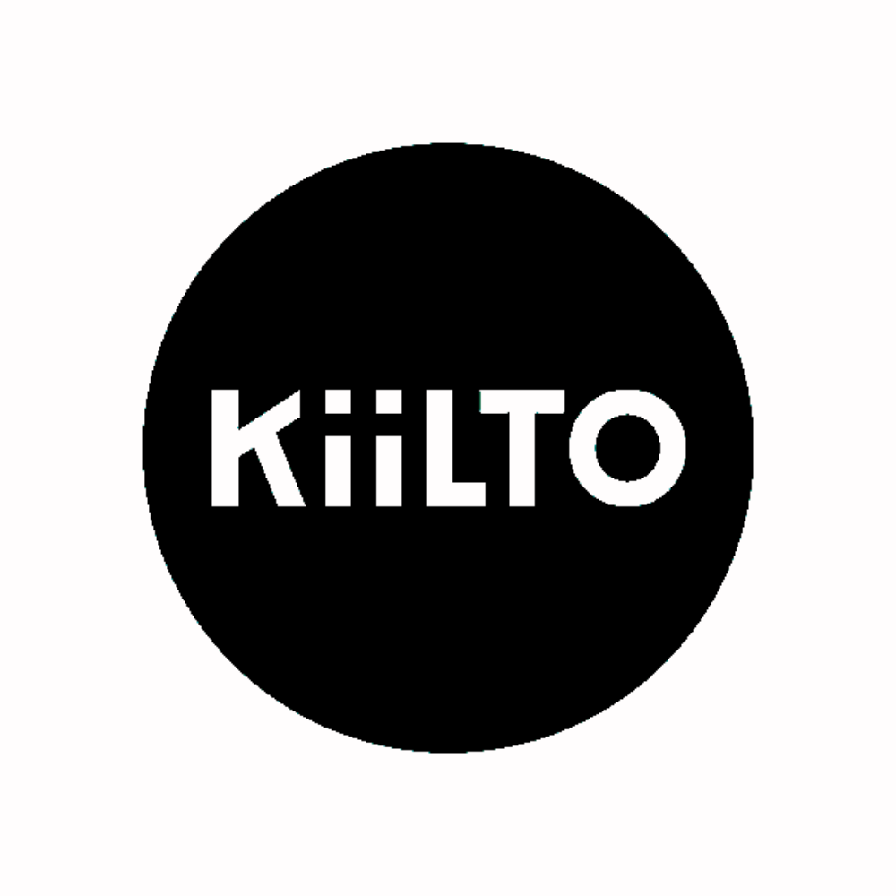 Kiilto logo black and white transparent png