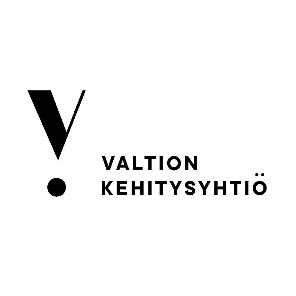 Valtion kehitysyhtiö logo black and white transparent png