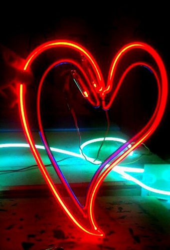 Neon Artist Abstract Neon Art Led Artwork Figurative