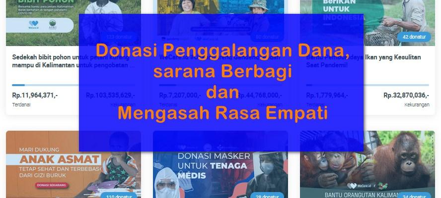 donasi penggalangan dana