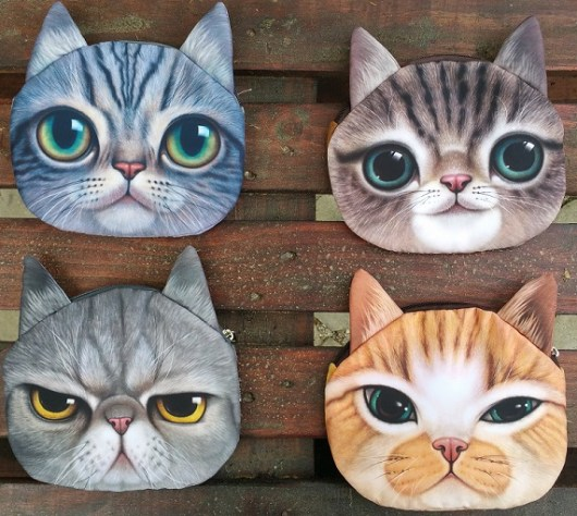 Cat Faced Chain Bags