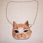 Oliver the Cat Chain Bag