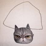 Smokey the Cat Chain Bag