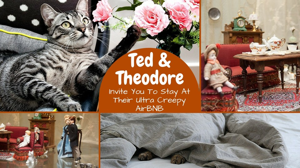 Ted & Theodore Invite You To Stay At Their AirBNB