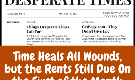 CatBagz.com Featured in Desperate Times Magazine, April Edition