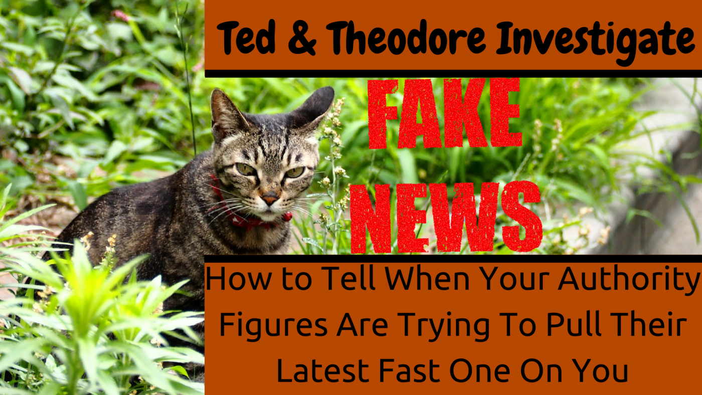 Ted and Theodore Discover the Internets Favorite Past Time of Lying About Everything Has Become Just Another Trend in Popular Media.