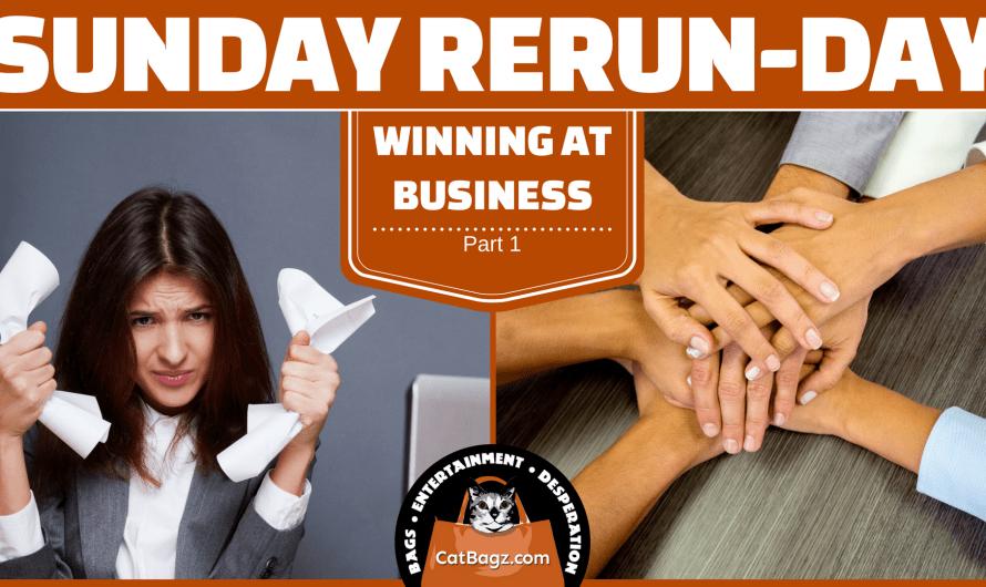 Sunday Rerun-day: Winning At Business, Part 1