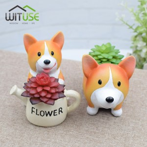 CatBagz.com Presents - Twelve Days of Catmas - Day Seven - Corgi planters for Corgi enthusiasts.