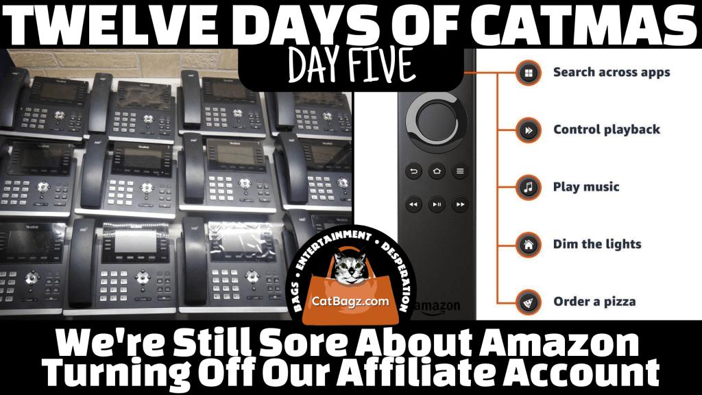 Twelve Days of Catmas – Day 5