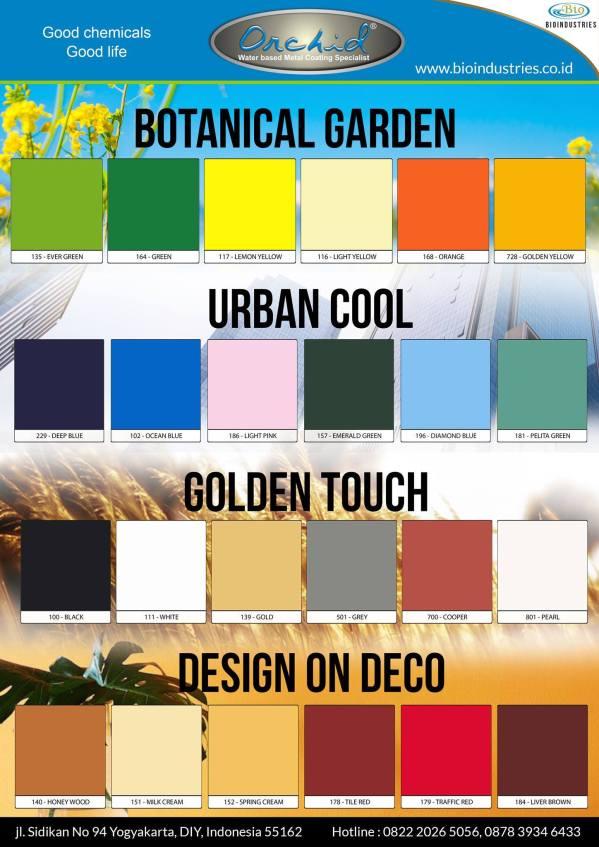 memilih warna pagar besi