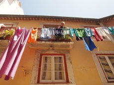 more laundry in Alfama