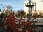 Bartholdi Park and its fountain