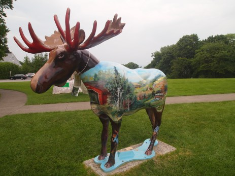 The Covered Bridge Moose