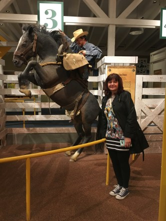 Charlene at the rodeo