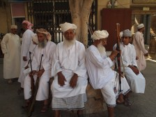 Rifle day at the souq in NIzwa