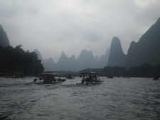 Magical landscape of the Li River