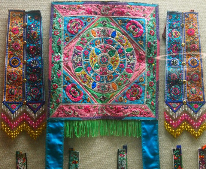 Miao embroidery