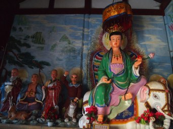 Interior of Baoxiang Temple