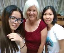 Sue, me and Evita