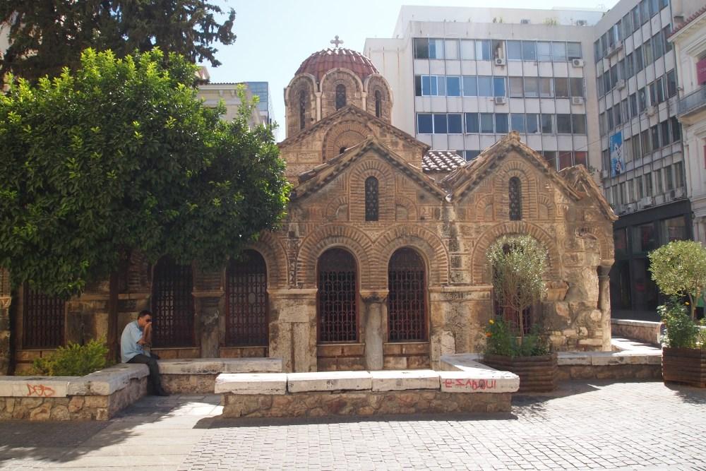 modern and ancient markets: monastiraki flea market & the ancient agora (3/6)