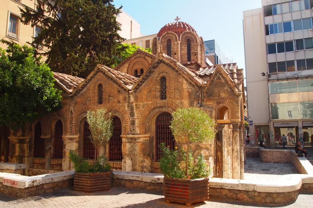 modern and ancient markets: monastiraki flea market & the ancient agora (1/6)