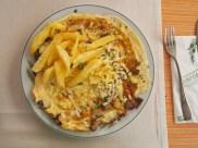 mushroom & cheese omelet