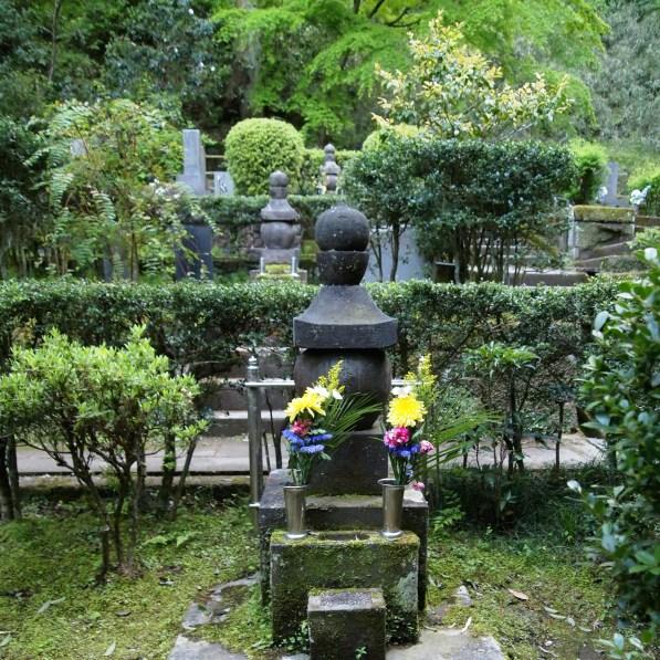 cemetery at Tokei-ji Temple