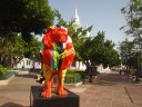 painted lion of Ponce