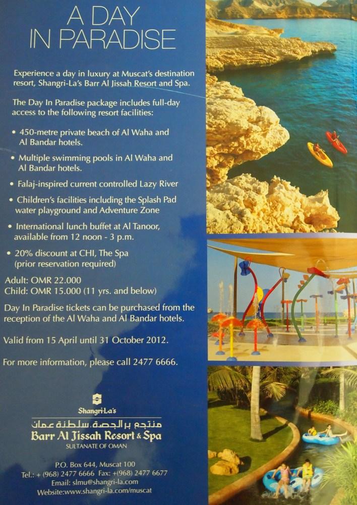 a day in paradise at shangri-la's barr al jissah resort & spa (1/6)