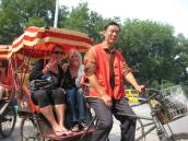 rickshaw in Beijing, China