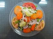 a colorful little salad